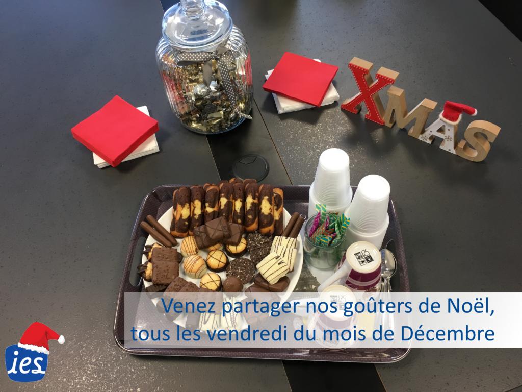 Goûter Noel IES, Joyeuses fêtes IES, Intérim Emploi Service, Galette IES