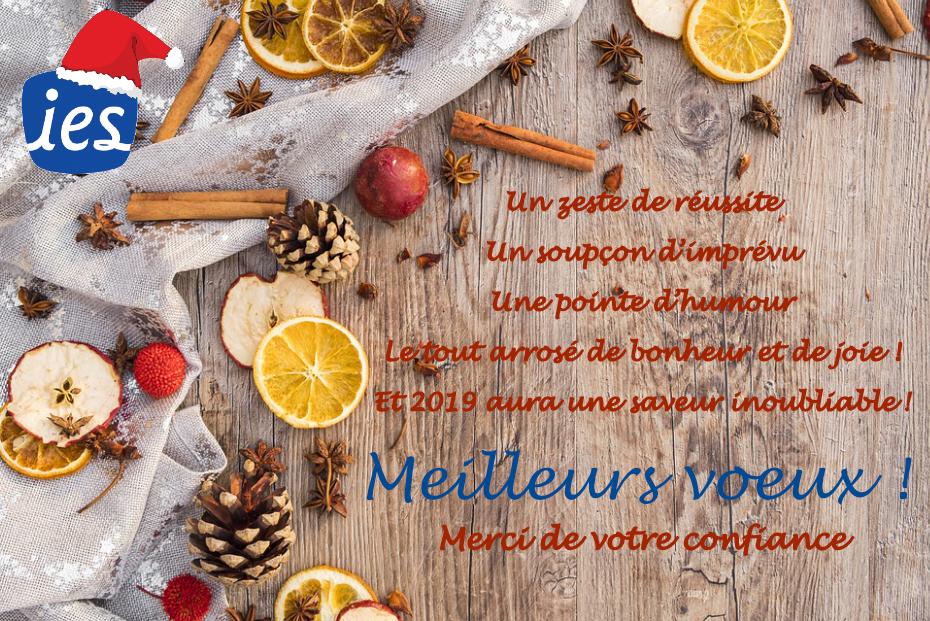 Bonne année IES - Carte de voeux