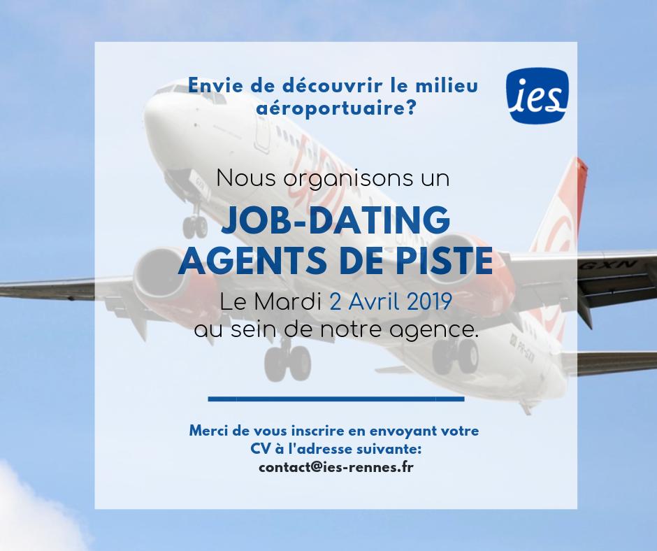 Jobdating agent de piste aéroportuaire IES Intérim Emploi Service